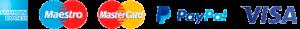 Officina & Design accetta le principali carte di credito tramite il circuito PayPal